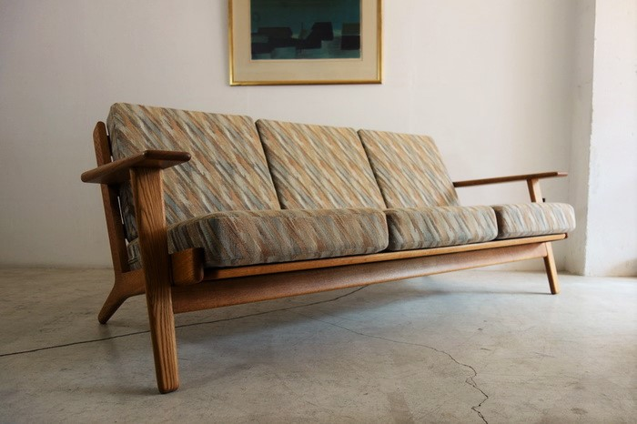 3seaters Sofa/GE-290/3 design by Hans J.Wegner