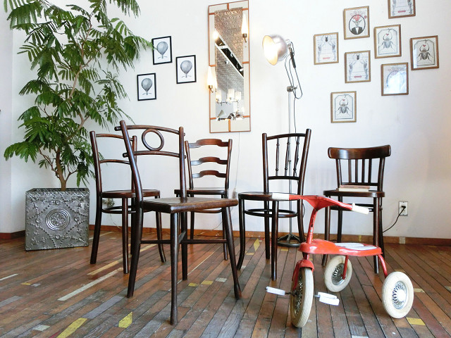 My Favorite Bentwood Chairs