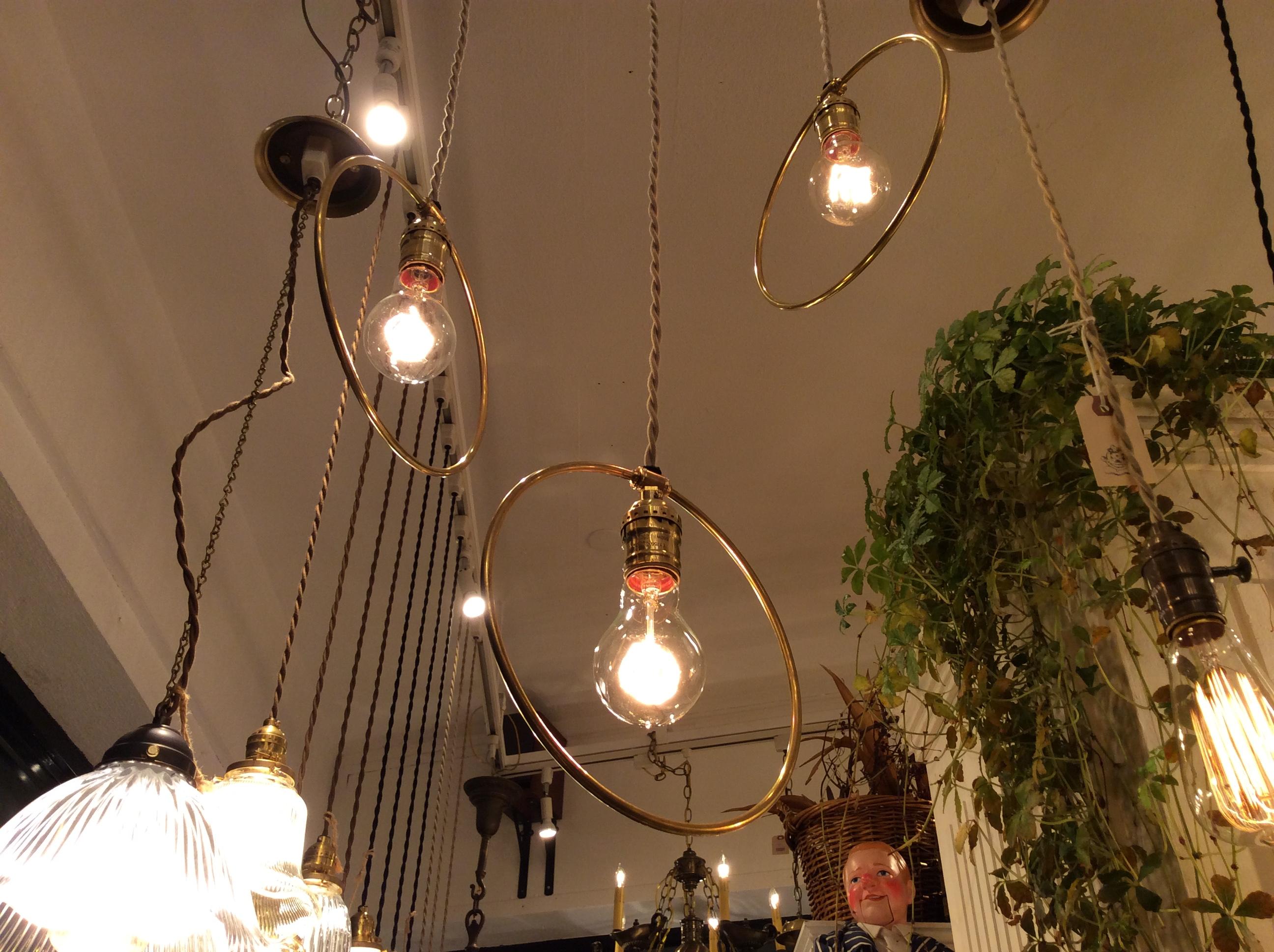 Original  Hoop Lamp.