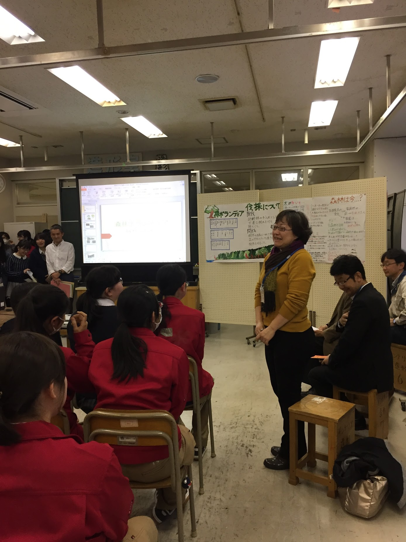 東京都立工芸高等学校 「人間と社会」授業発表会