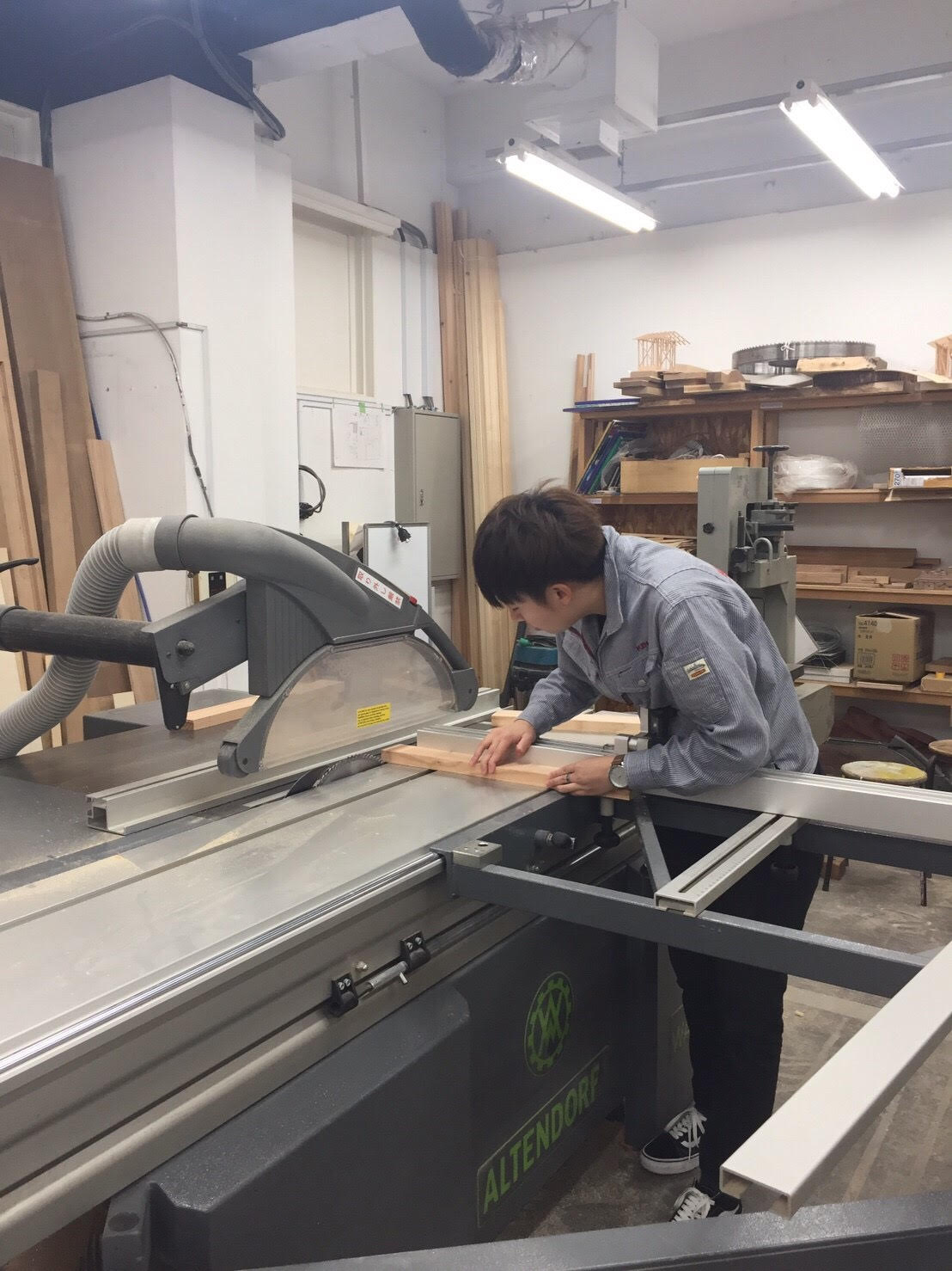 ~IMT授業風景~ヒモ椅子製作!!