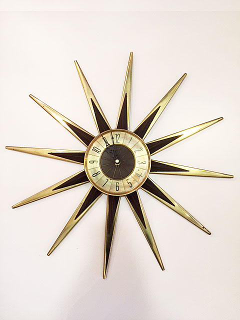 SunBurst Clock & Pendant Light