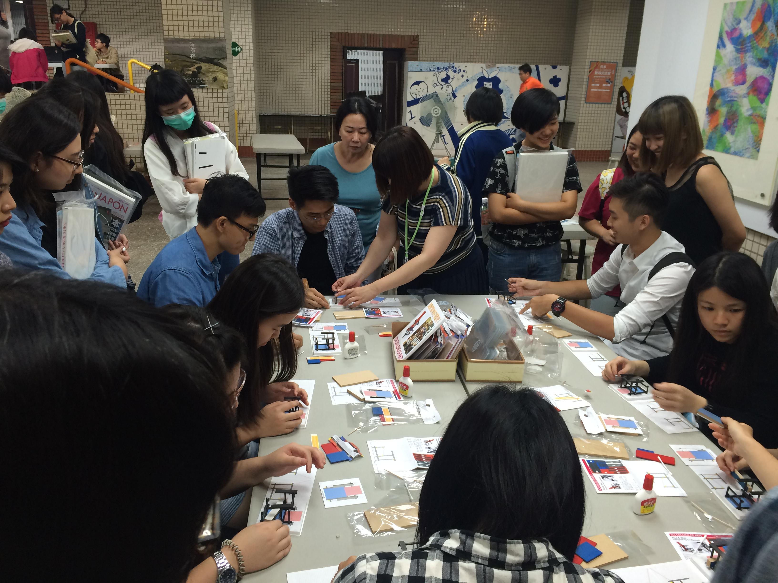 5月23日(火)24日(水)に、台湾の『日本ART & DESIGN教育交流展in台灣2017』に出展!