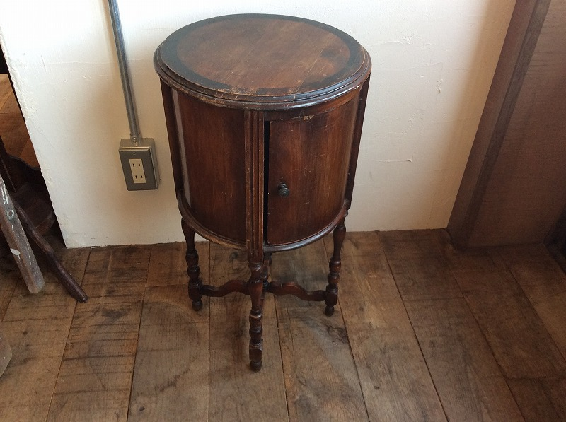 Round small Cabinet.