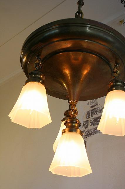 1920's  castle lamp