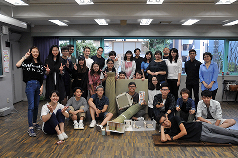 ICSカレッジオブアーツ&台湾大葉大学ワークショップ2017