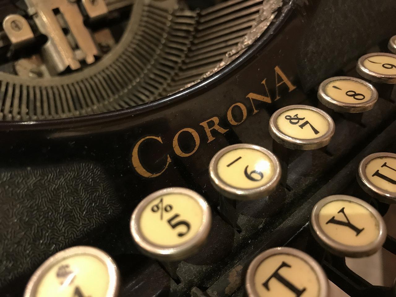 "The Typewriter ""corona 4"""