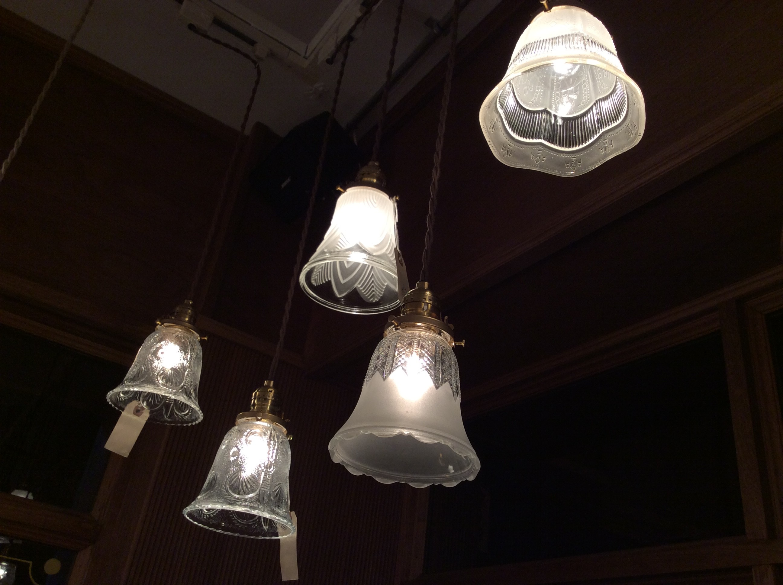 Small size Pendant lights.