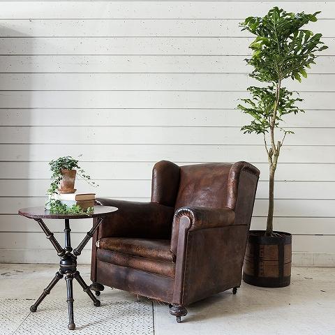 vintage club sofa.