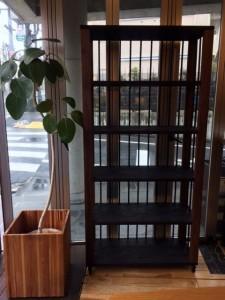 オープン飾り棚(書棚)作成しました
