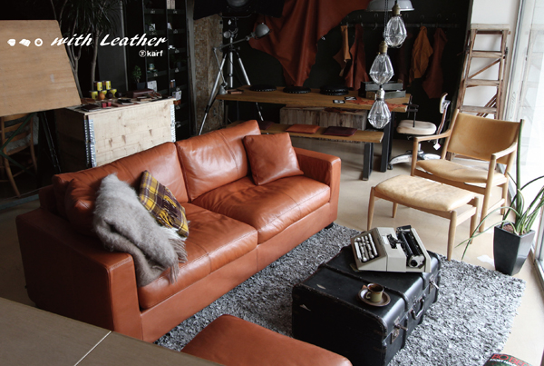 karf event 「. . . with Leather」 ~ 3月6日(日)開催中です。
