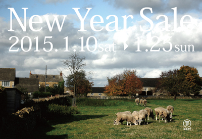 New Year Sale 2015 / 1.10 sat – 1.25 sun