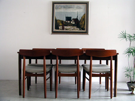 Large work / dining table from the Netherlands