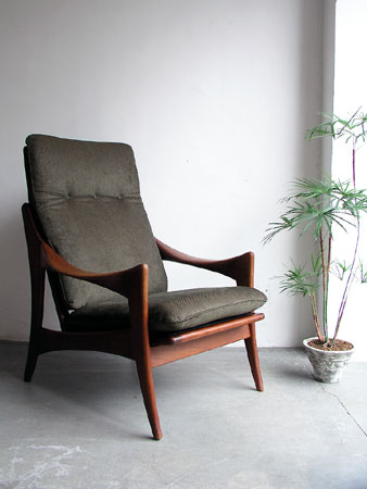 High back easy chair from the Netherlands