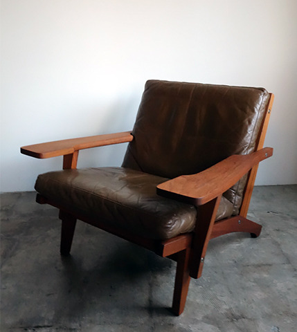 GE370 Easy  Chair Teak  by Hans J.Wegner