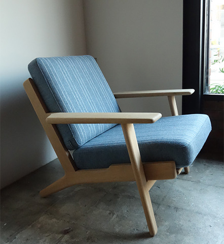 GE290 Easy chair by Hans J.Wegner