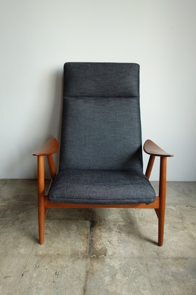 High back chair by Illum Wikkelso