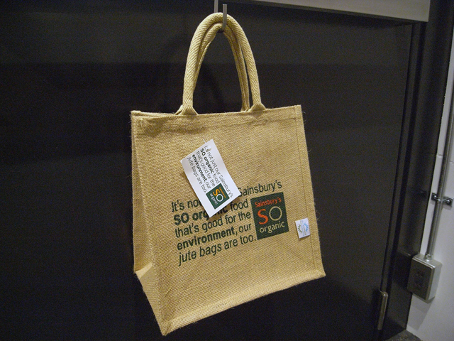 English eco bag