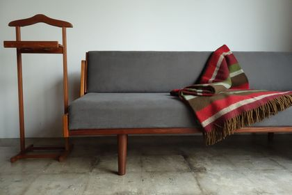 GE258(GE-6) Sofa bed  by Hans J.Wegner